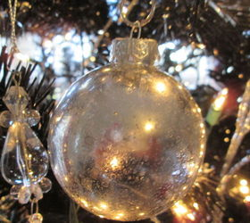 An acrylic painted christmas ornament hometalk