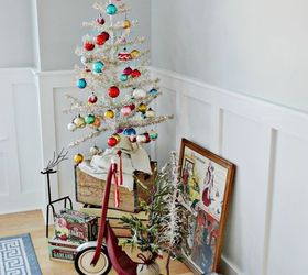 A Retro Vintage Christmas Home Tour, Christmas Decorations, Home Decor,  Seasonal Holiday Decor Sara