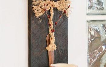 Scrap Wood Sconces