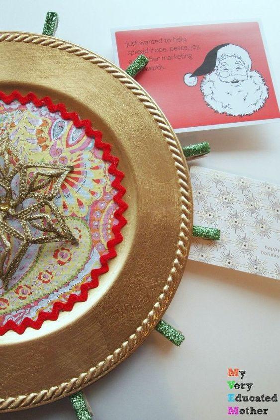 christmas card holder and display, christmas decorations, crafts, how to, seasonal holiday decor