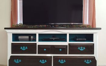 Turning an Old Dresser Into a Media Console