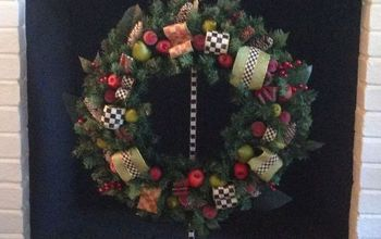 Making a Mackenzie-Child's Christmas Wreath