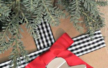 Gift Wrap Inspiration: Paint Chip Gift Tags #homefortheholidays
