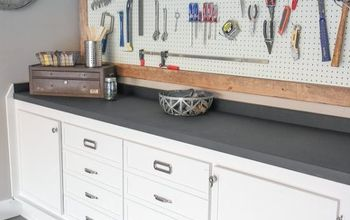 Garage & Workbench Makeover