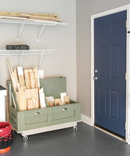 Garage Improvement Ideas: Garage & Workbench Makeover