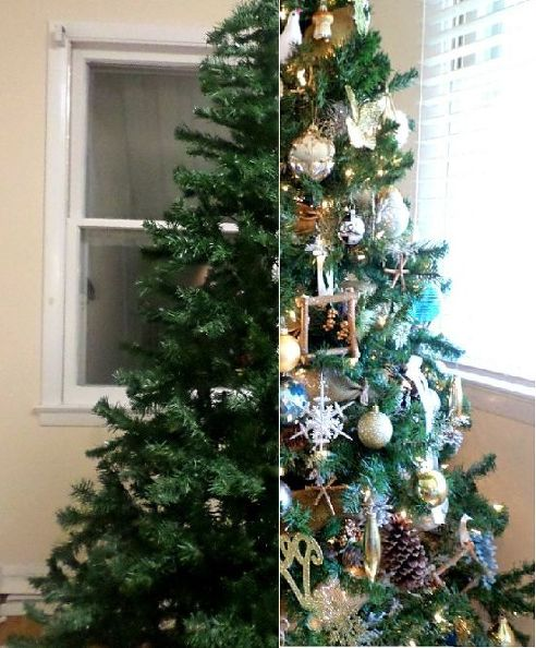S 7 Ways To Make Your Fake Tree Look Full And Fabulous On The