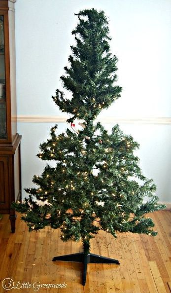 Sparse Christmas Tree Decorating.8 Hacks To Make Your Fake Christmas Tree Look Full And