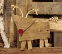 rustic reindeer, christmas decorations, diy, seasonal holiday decor, woodworking projects