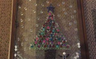 how to repurpose old window for christmas decor, christmas decorations, crafts, repurposing upcycling, seasonal holiday decor