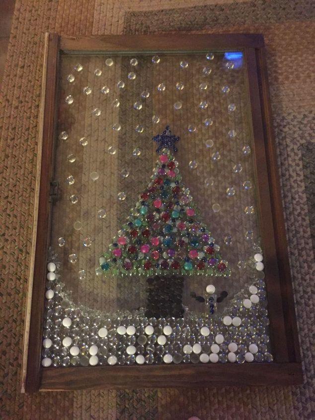 Window for Christmas Decor
