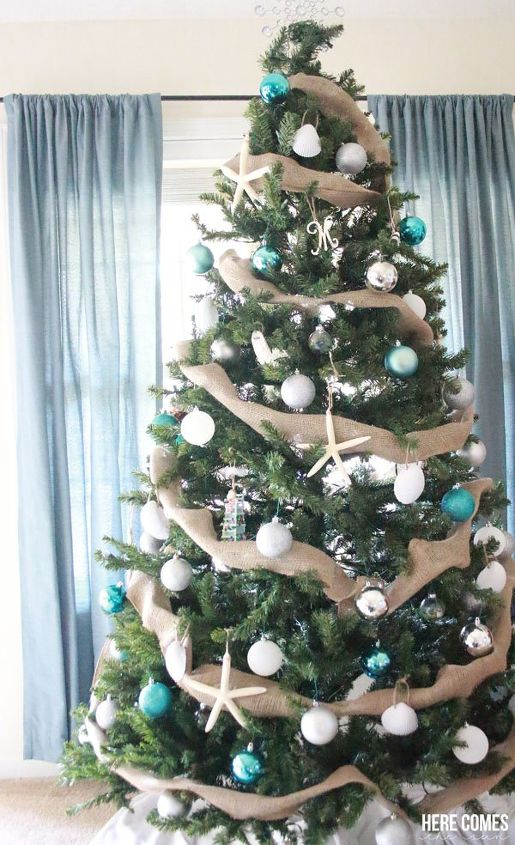 coastal christmas tree christmas decorations seasonal holiday decor
