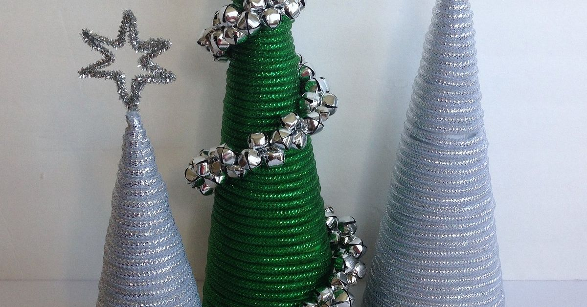 Dollar tree mesh tube christmas trees hometalk