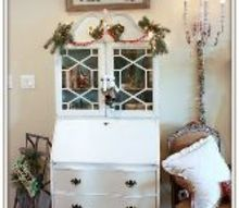 farmhouse vintage christmas decorations, christmas decorations, home decor, seasonal holiday decor