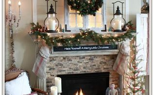 Cozy Farmhouse Christmas Mantel Decorations Fireplaces Mantels Seasonal Holiday Decor