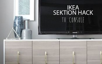 IKEA SEKTION Hack: TV Console