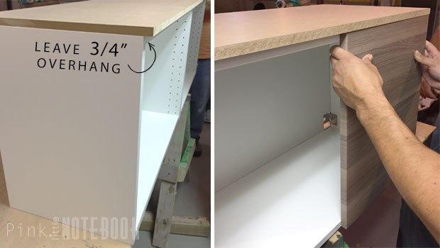 Ikea Sektion Credenza : How to hack an ikea sektion into a tv console hometalk