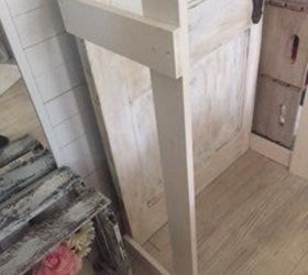 Attractive Free Standing Closet Made With An Old Door, Closet, Diy, Doors, How