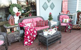 inexpensive deck decorating ideas for christmas that even you can do, christmas decorations, decks, home decor, seasonal holiday decor