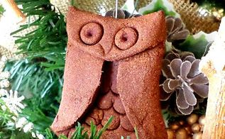 aromatic cinnamon owl ornament tutorial, christmas decorations, crafts, how to, seasonal holiday decor