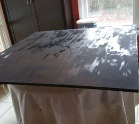 Superior Painted Board For Glass Top Dining Table, Chalk Paint, Painted Furniture,  Finally A