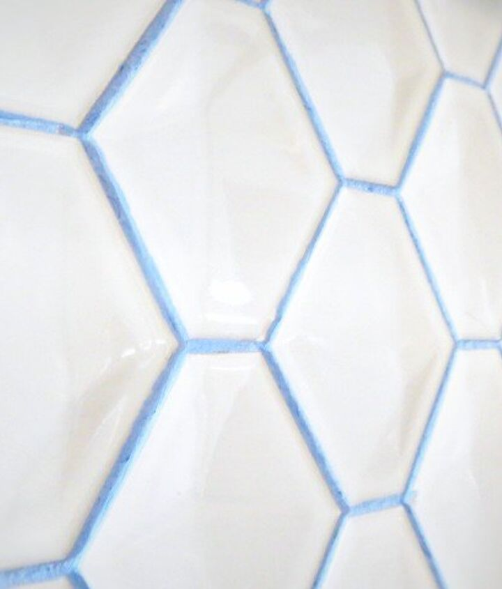 how to grout in bright colors, how to, kitchen backsplash, kitchen design, tiling