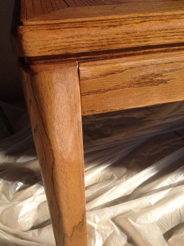 q why did the wipe on poly make white patches in my stain, painted furniture, painting wood furniture, woodworking projects