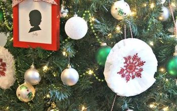 Coffee Filter Snowflake Ornaments ~ Super Inexpensive Christmas Decor