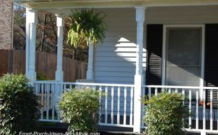 how to replace a porch column, diy, home improvement, how to, porches, woodworking projects