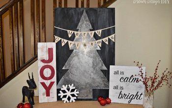 DIY - Joy Christmas Sign