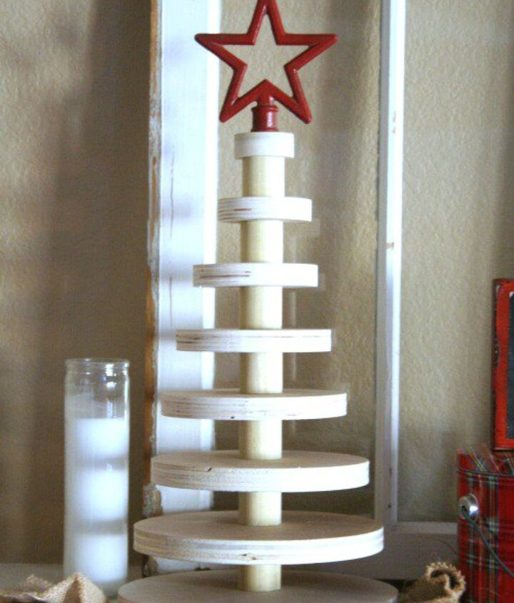 A Rustic Stacked Wood Christmas Tree Hometalk