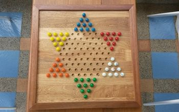 chinese checkers diy, crafts, how to, woodworking projects