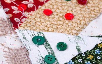 holiday no sew christmas tree table runner, christmas decorations, crafts, seasonal holiday decor, Add embellishments