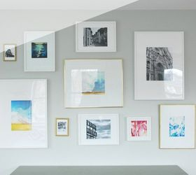 Superb Gallery Wall Diy Mattes For Ikea Ribba Frames, Wall Decor