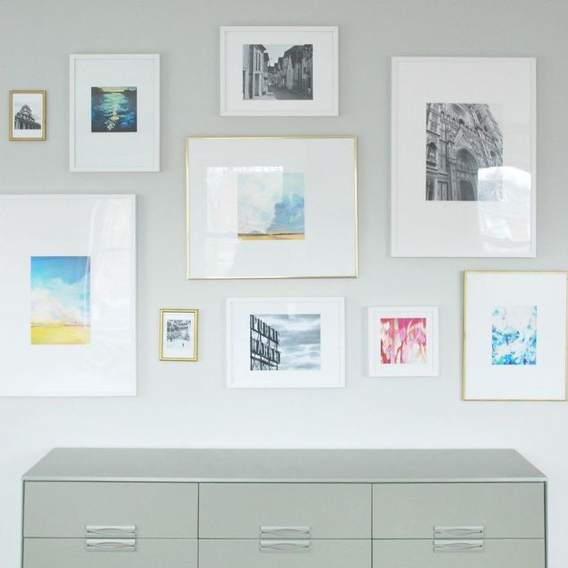 Gallery Wall Diy Mattes For Ikea Ribba Frames Decor