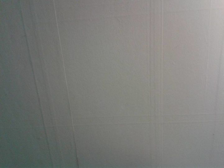q wallpaper on the ceiling oh no, cosmetic changes, home improvement, wall decor