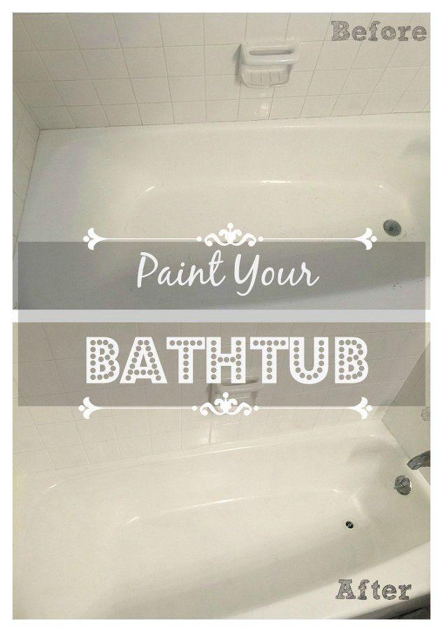 Paint Your Bathtub! | Hometalk