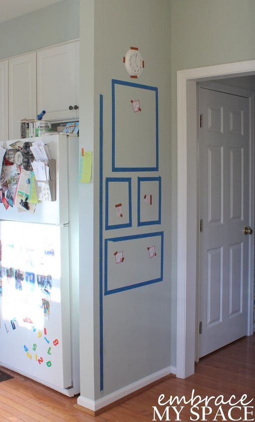 diy home command center, chalkboard paint, organizing, painting