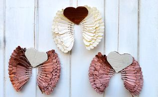 re purpose some old badminton shuttlecocks into festive angel wings, christmas decorations, crafts, repurposing upcycling, seasonal holiday decor