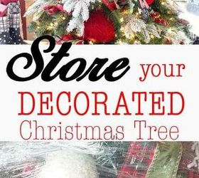 Holiday Decoration Storage Ideas Part - 36: Decorated Christmas Tree Save Time Store, Christmas Decorations, Seasonal Holiday  Decor, Storage Ideas