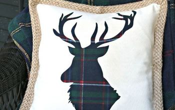DIY Reindeer Pillow