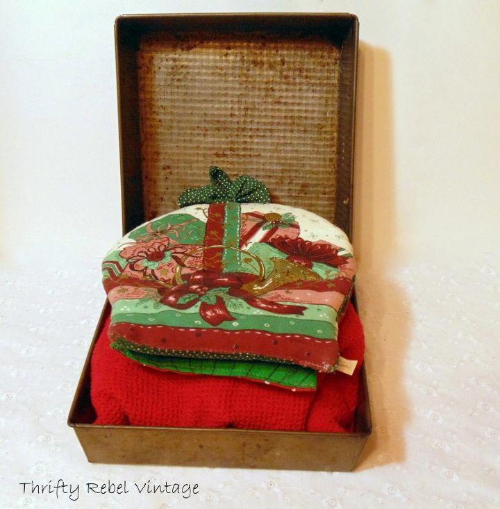 Repurposed Baking Pans Gift Box Hometalk