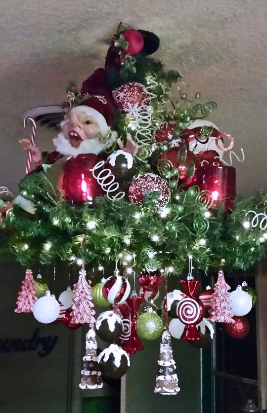 Christmas chandelier hometalk christmas chandelier christmas decorations seasonal holiday decor aloadofball Gallery