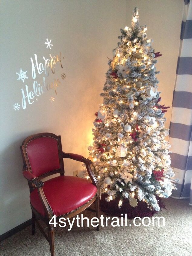 Alternative For A Tree Skirt Christmas Decorations Seasonal Holiday Decor