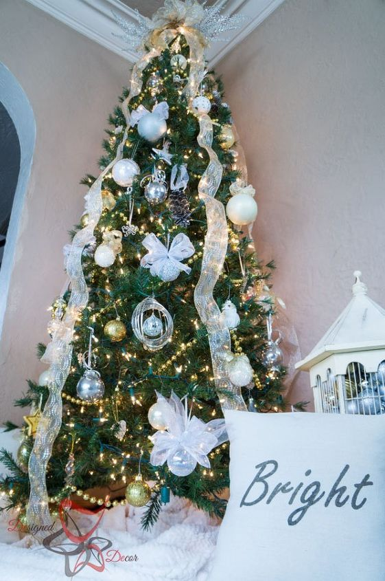 decorate christmas tree on a budget christmas decorations seasonal holiday decor - How To Decorate For Christmas On A Budget