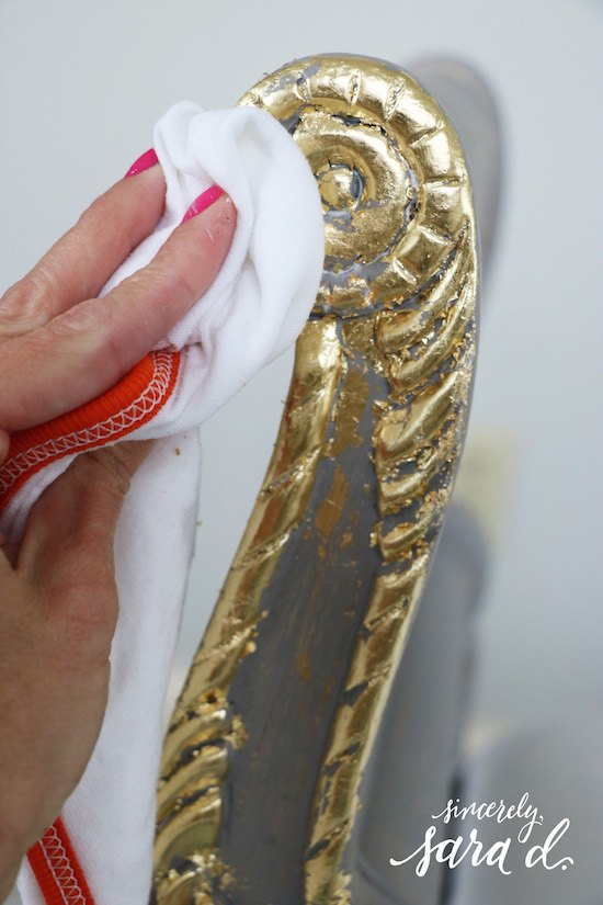 gilding furniture, painted furniture