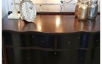 Old Dresser From Garage Gets a New Life