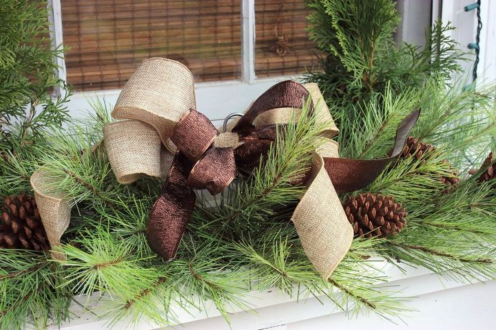 Easiest Christmas Window Box Idea EVER Hometalk Custom Window Box Christmas Decorations