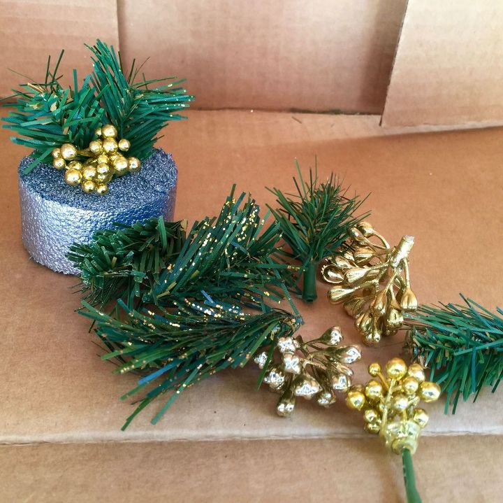 holiday pool noodle lights, crafts, ponds water features, repurposing upcycling
