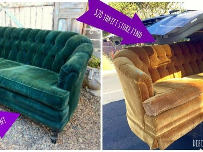 How To Paint Upholstery And Keep The Fabric Soft Even Velvet