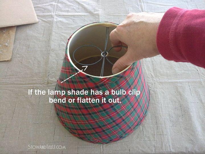 Repurposed lamp shade gift basket hometalk repurposed lamp shade gift basket christmas decorations repurposing upcycling seasonal holiday decor aloadofball Choice Image